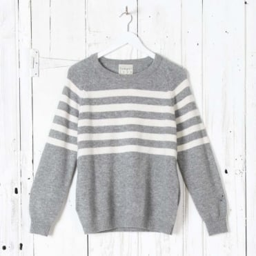 French Stripe Boyfriend Sweater