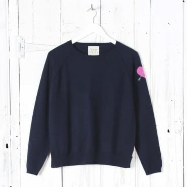Heart On Sleeve Sweater