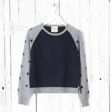 Star Baseball Sweater