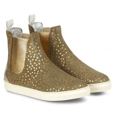 Khaki Star Inish Boot