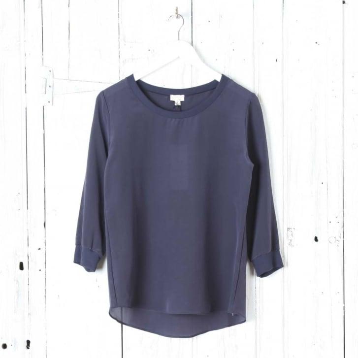 HANRO 'Knits' Silk Shirt