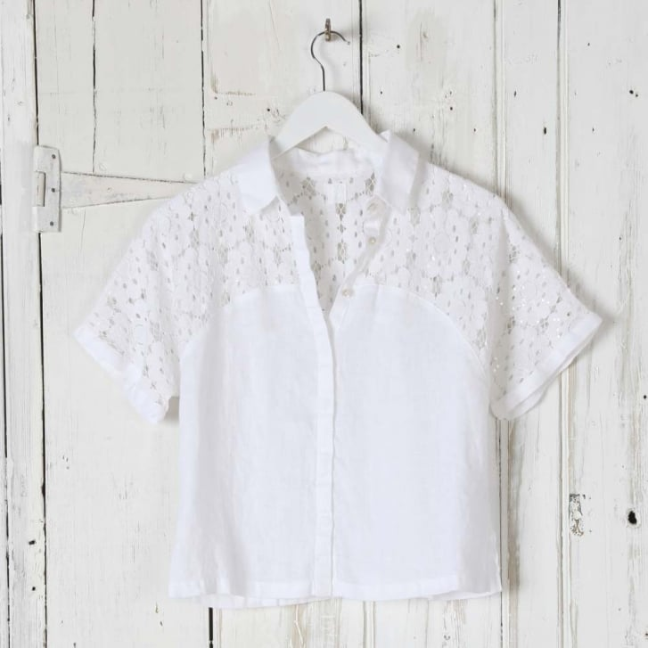 120% Lace and Linen Shirt