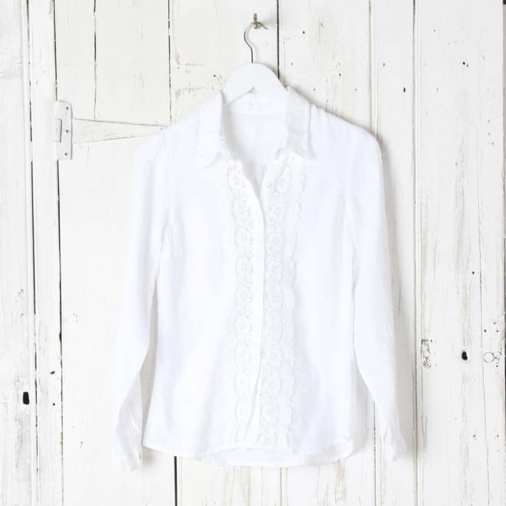 120% Lace Bib Long Sleeve Shirt