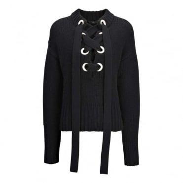 Lace Sweater Cashmere Knit