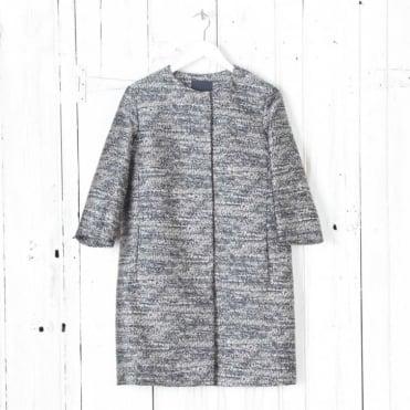 Lavanda Jacquard Short Coat