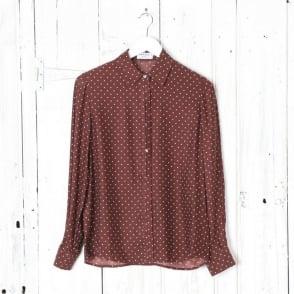 Le Classic Pleat Silk Shirt