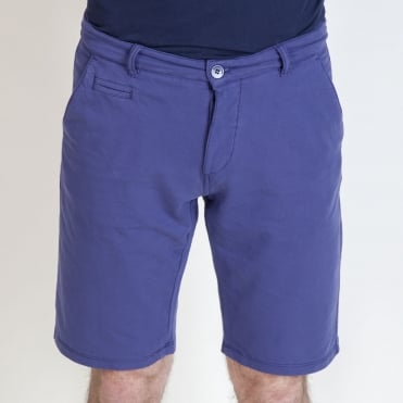 Lorenzo Jersey Short in Night Blue