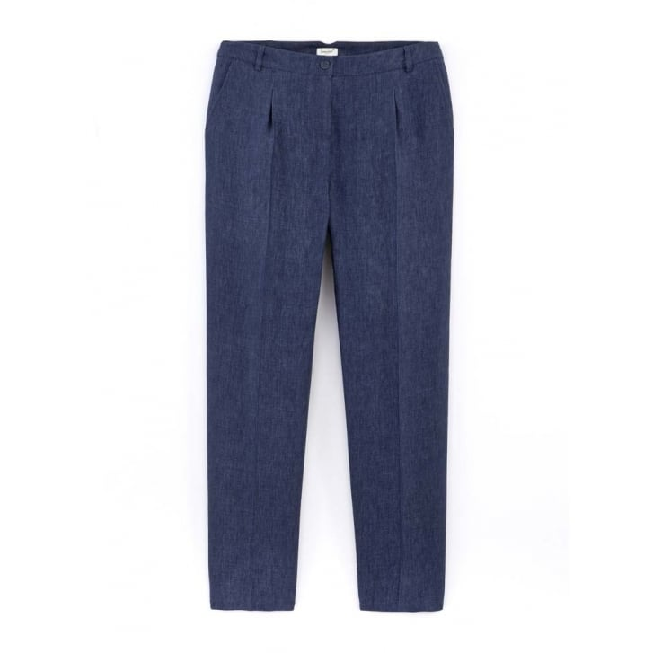 SOMEWHERE PARIS Linen Chine Harly Pants