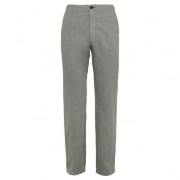 Linen Drawcord Trousers