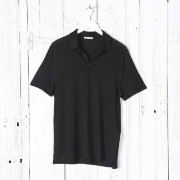 Linen Jersey Polo