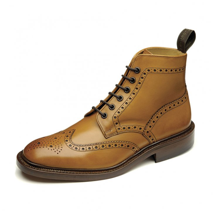 LOAKE Burford Premium brogue boot