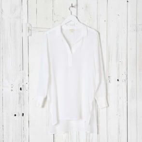 Long Lightweight Silk Shirt