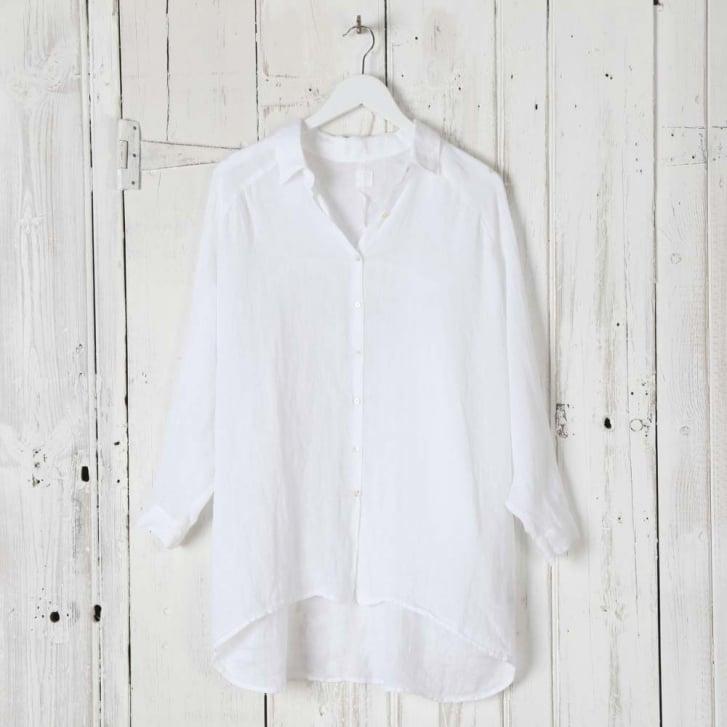 120% Long Line Linen Shirt
