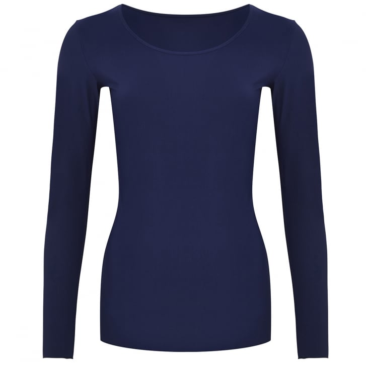 HOPE FASHION Long Sleeve Scoop Top
