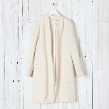 Long Woven Coat