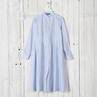 Luis Pleat Front Dress