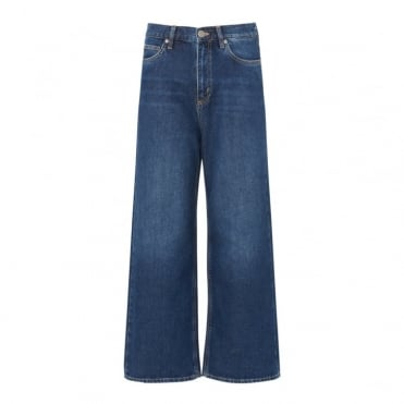 Caron Cropped Wide Jean