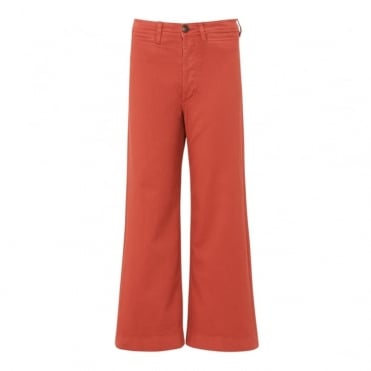 Caron Cropped Wide Pant