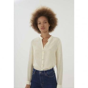 Collarless Evelyn Shirt