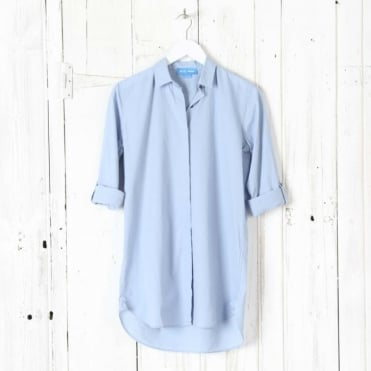 Oversized Long Cotton Shirt