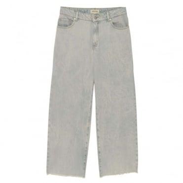 Mackmann Wide Leg Jeans
