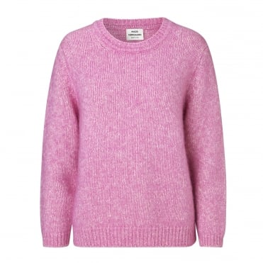 Alpaca Dream Kaxi Jumper in Rose Melange