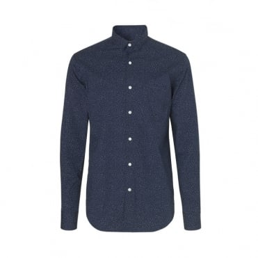 Dotty Vikdal Selik Shirt in Navy