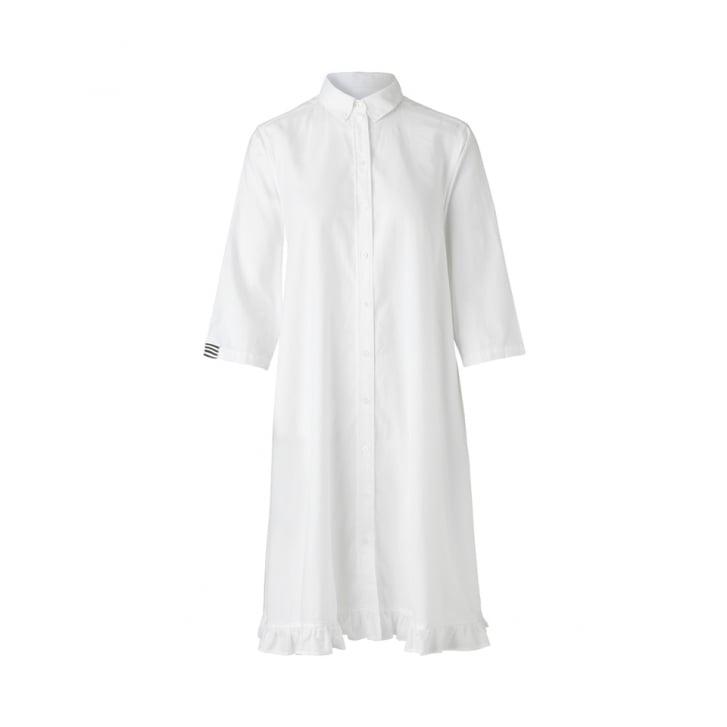 MADS NORGAARD Fine Oxford Delmissa Frill Dress