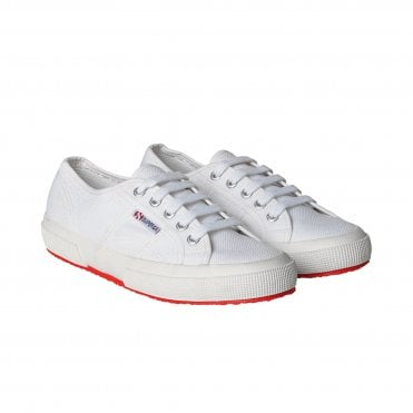 Mads Norgaard x Superga 2750 Cotu Classic Sneaker in White Pink