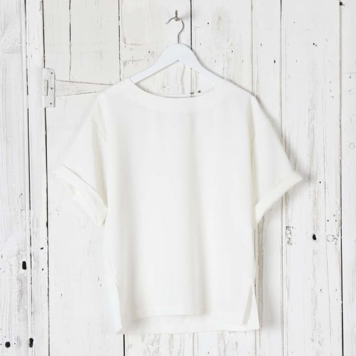 Margot Crepe Simple Top