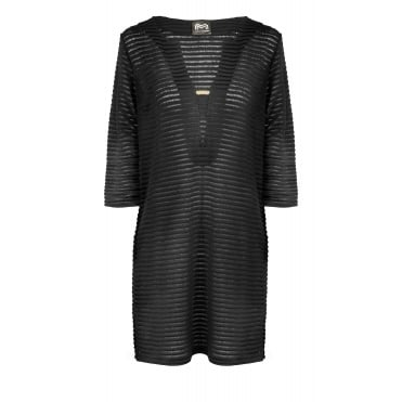 Power Tunic in Black