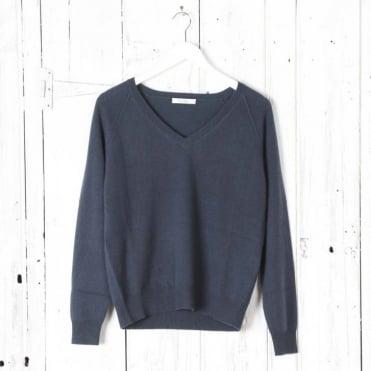 Cambusa V Neck Cashmere Sweater