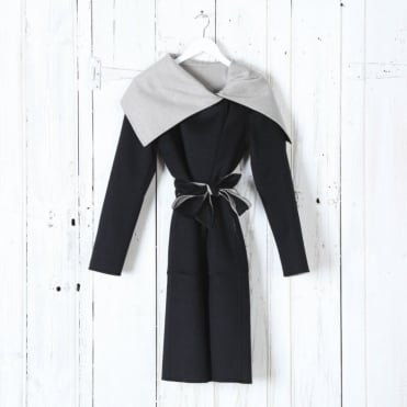 Emy Draped Coat