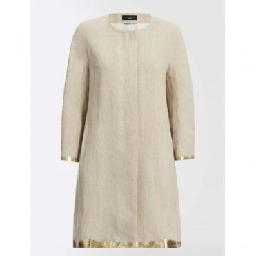 Abbado Collarless Coat
