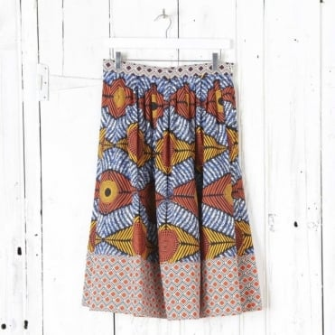 Cellula Pattern Skirt