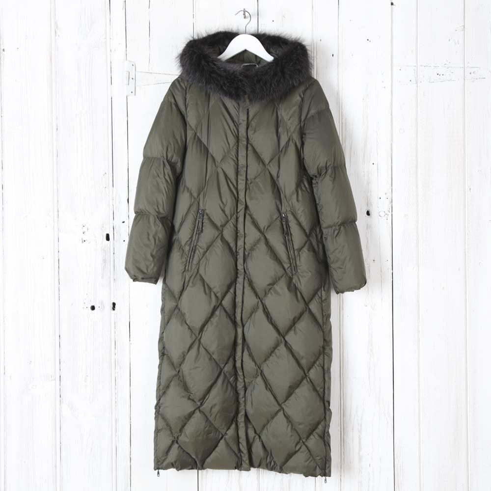 Buy Max Mara Weekend Gel Quilted Coat in Khaki | Collen & Clare : max mara quilted jacket - Adamdwight.com