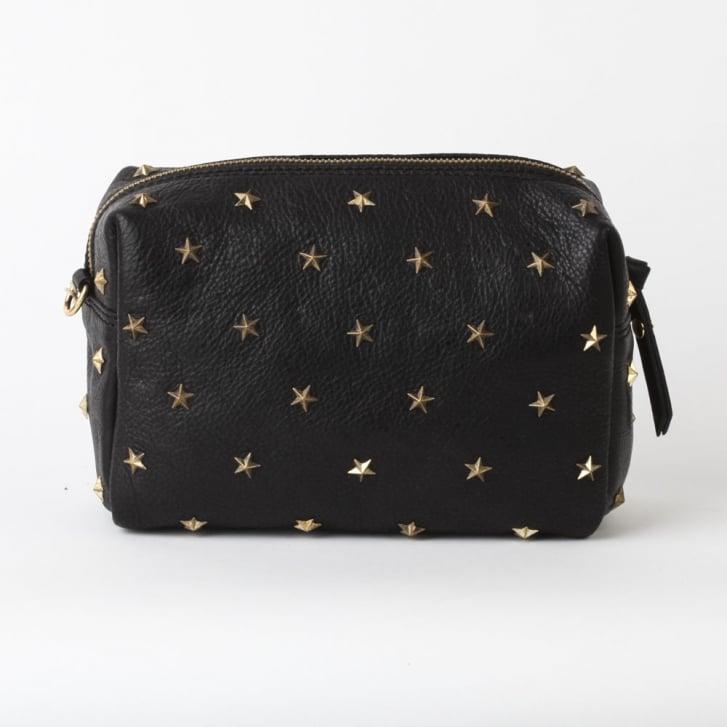 MERCULES Dixie Studded Crossbody Bag in Black