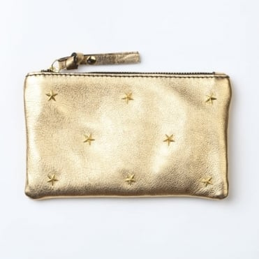 Wallet with Star Embellishment