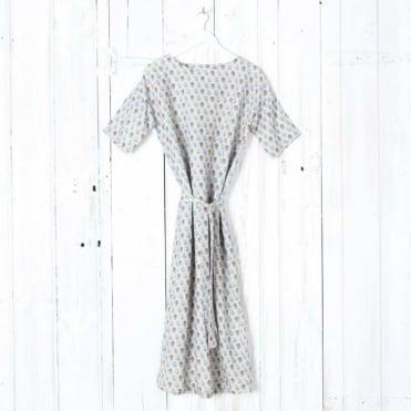 Merel Pineapple Print Midi Dress