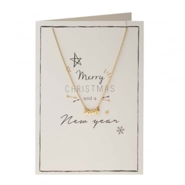Merry Christmas Script Giftcard