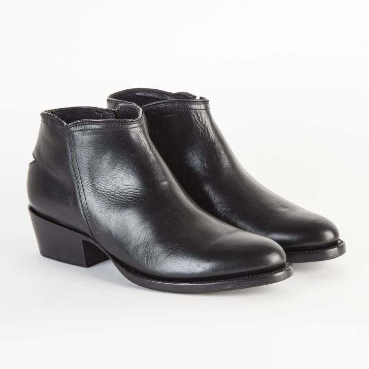 MEXICANA Black Star Low Boot in Black