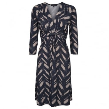Mid Length Ruched Dress