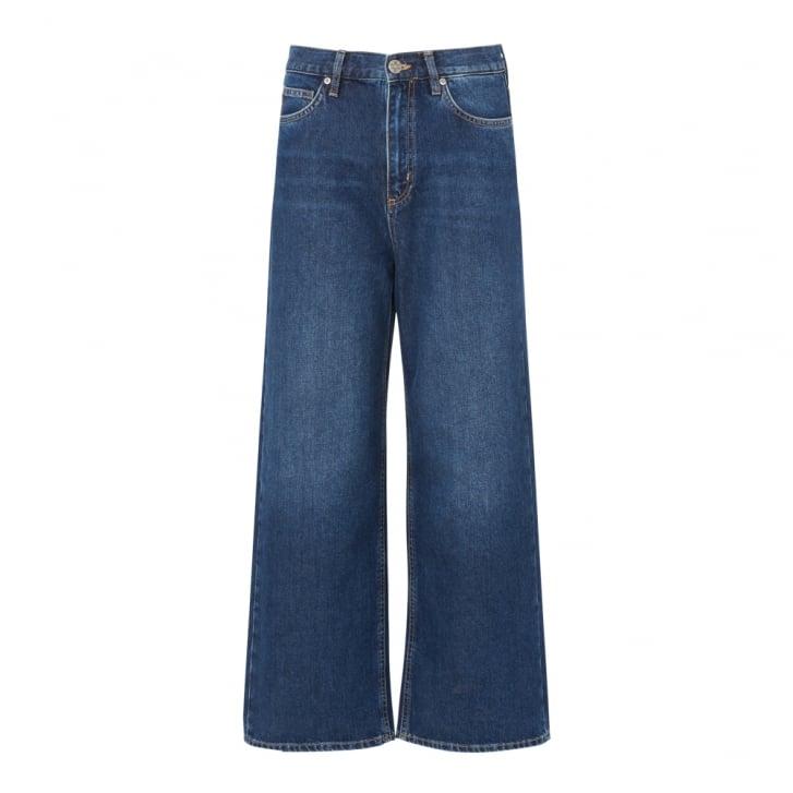 M.I.H JEANS Caron Cropped Wide Jean