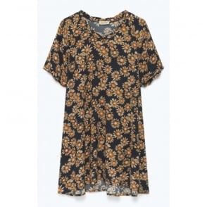 Miona Floral Print Dress
