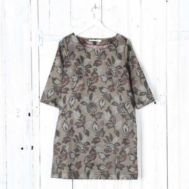 Loes Fancy Jacquard Tunic Dress