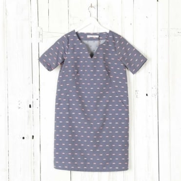 Miranda Jacquard Dress