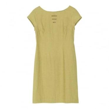 Nefertiti Linen SS Dress