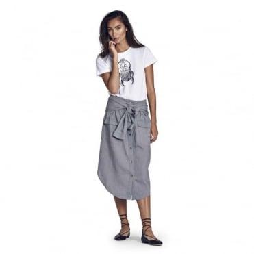 Nefertiti Tie Waist Skirt
