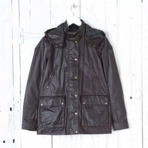 New Tourmaster Hooded Wax Jacket