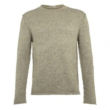 Jaspe Twist Funnel Neck Keyes Jumper